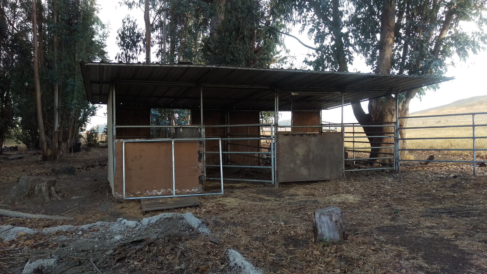 Partially Enclosed Shelter