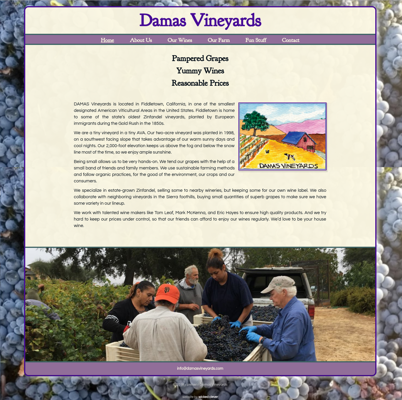 Damas Vineyards